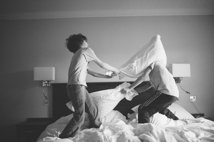 Xanthe Berkeley On My Parents Island Pillow Fight